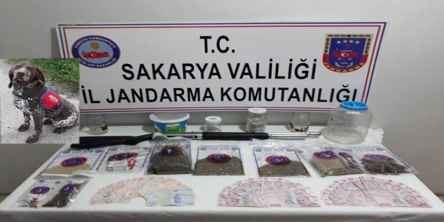 Jandarma kasım ayı uyuşturucu raporu