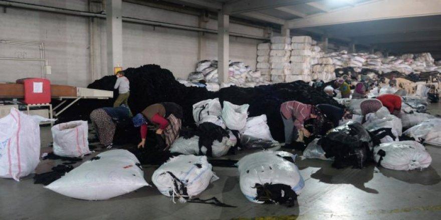 Tekstil atıkları 12 bin kişiye istihdam oldu