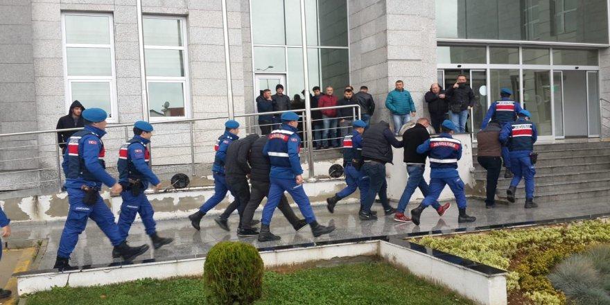 Gebze'de büyükbaş hayvan hırsızları tutuklandı