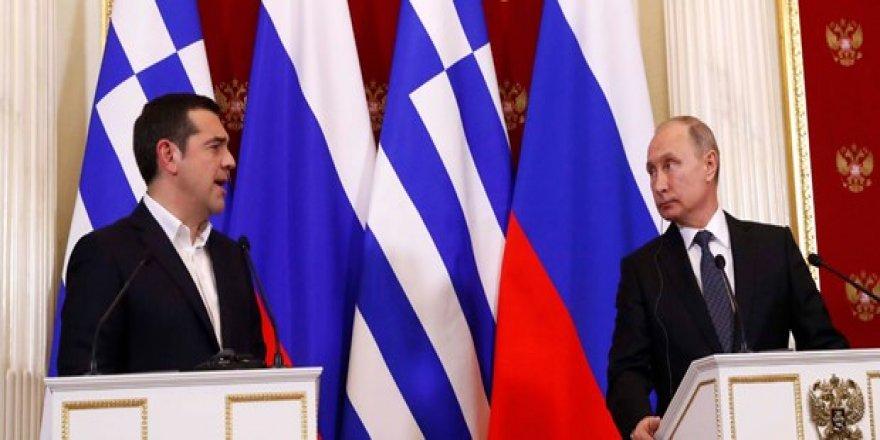 """Putin'den Yunanistan'a """"TürkAkım"""" mesajı"""
