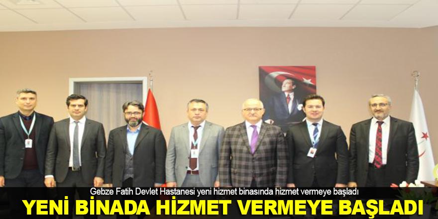 Fatih Devlet yeni binasında hizmet vermeye başladı