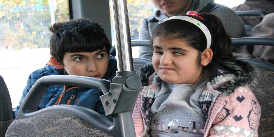 Görme engelliler otobüslerde inecekleri durakları duyacak