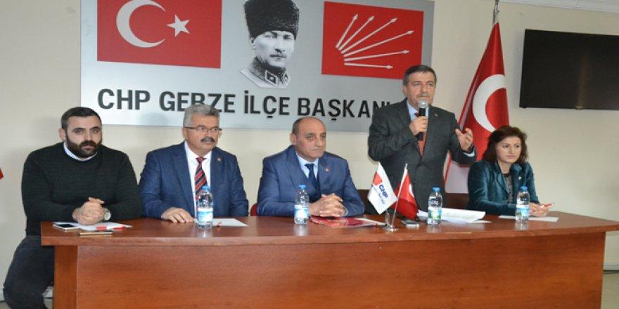 Gebze'de CHP bayrağı dalgalanacak