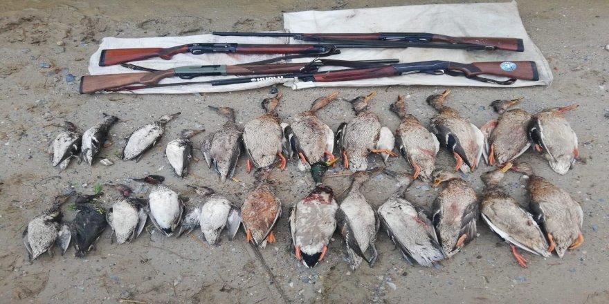 Av değil sanki katliam yapmışlar