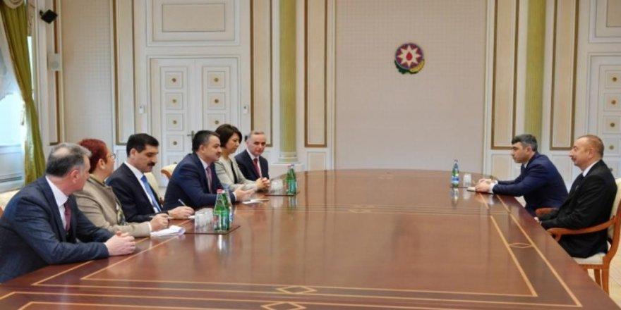 Aliyev, Bakan Pakdemirli'yi kabul etti