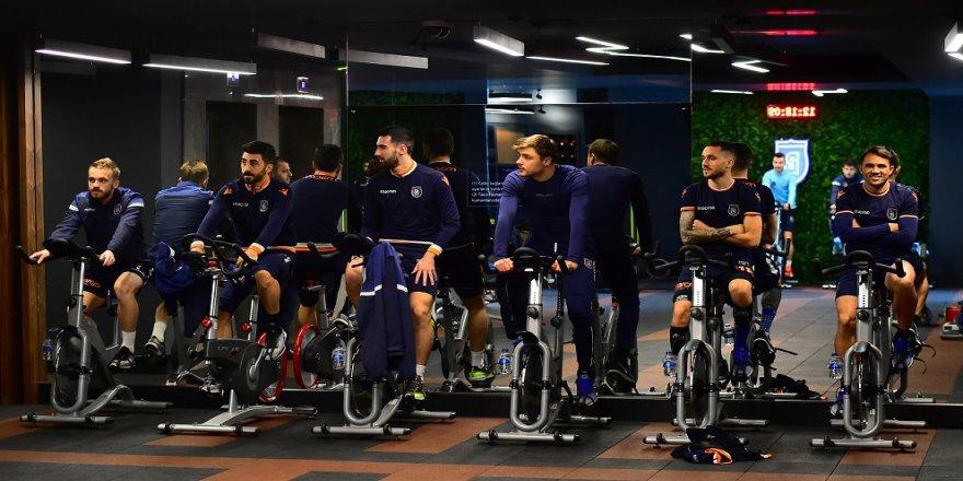 Başakşehir'de Galatasaray mesaisi başladı