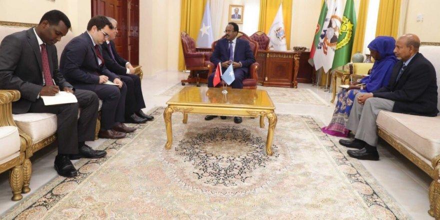 Somali Cumhurbaşkanı, Büyükelçi Yılmaz'ı kabul etti