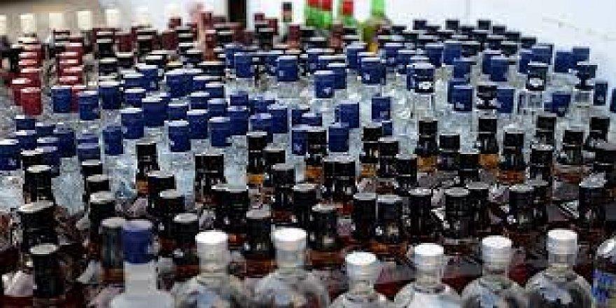 Kaçak içkiyle yakalanan şahsa adli kontrol