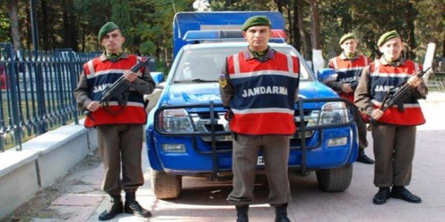 Jandarma personel kartları değişti