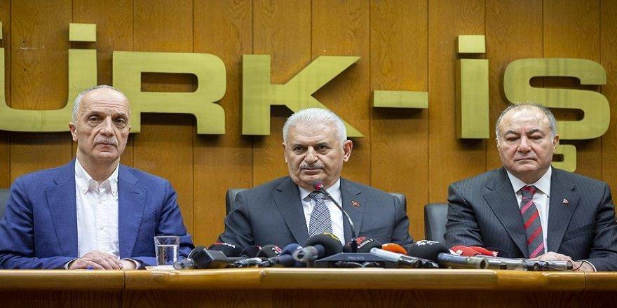 Türk-İş'i ziyaretim yaşananlara karşı bir cevaptır
