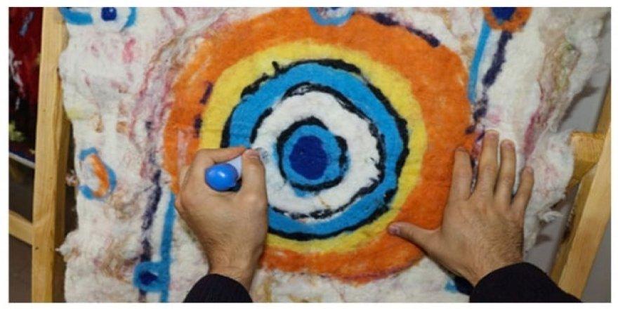 Ata mirası 'keçe işleme sanatı' geleceğe taşınıyor