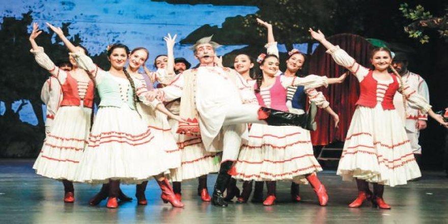 'Çingene Baron' operetine bol alkış