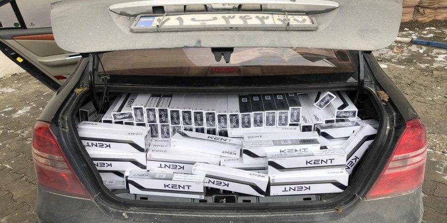 9 bin 800 paket kaçak sigara ele geçirildi