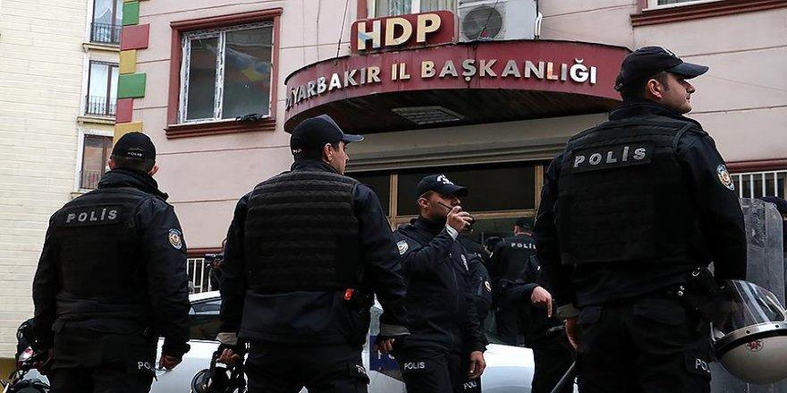 HDP il binasına operasyon