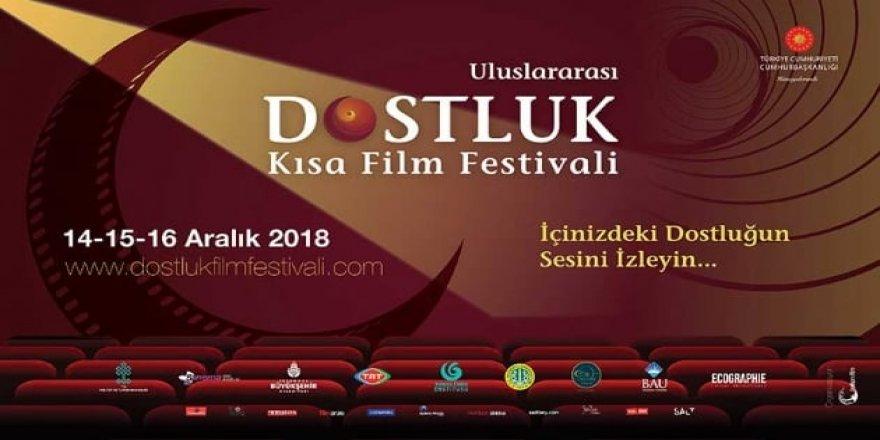 İBB'nin destekleriyle düzenlenen Uluslararası Dostluk Kısa Film Festivali başlıyor