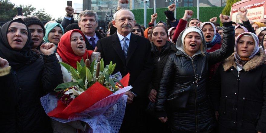 Kılıçdaroğlu'ndan Flormar işçilerine destek