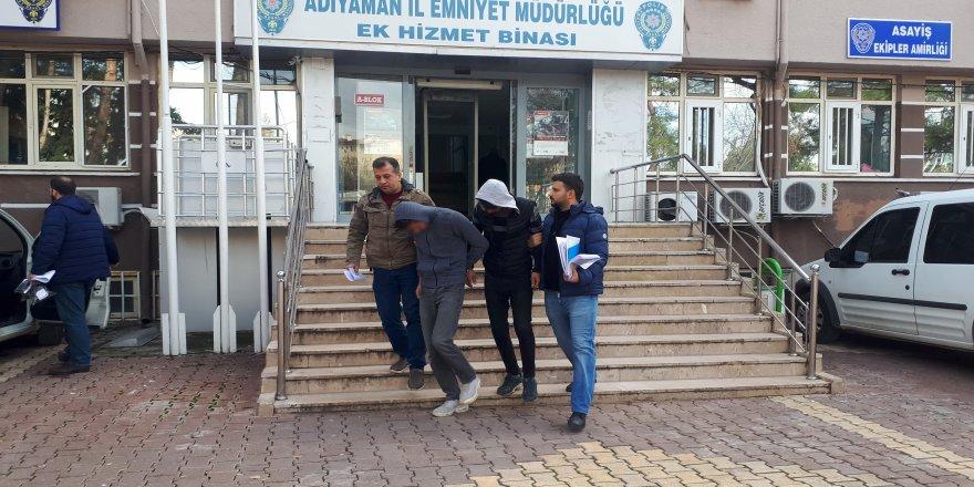 Büfe hırsızları yakalandı: 3 gözaltı