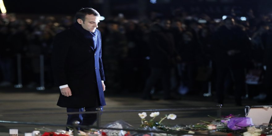 Macron'dan Strasbourg Noel Pazarı'na ziyaret