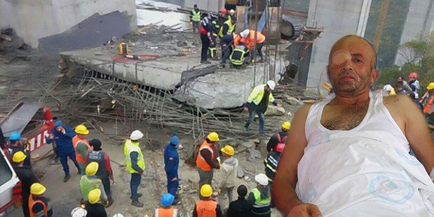 Tonlarca betonun altından 'mucizevi' kurtuluş