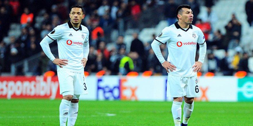 Beşiktaş Avrupa dönüşü 7 puan bıraktı