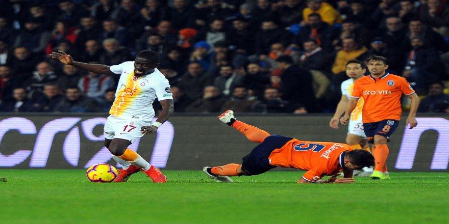 Spor Toto Süper Lig: Medipol Başakşehir: 1 - Galatasaray: 1 (Maç sonucu)
