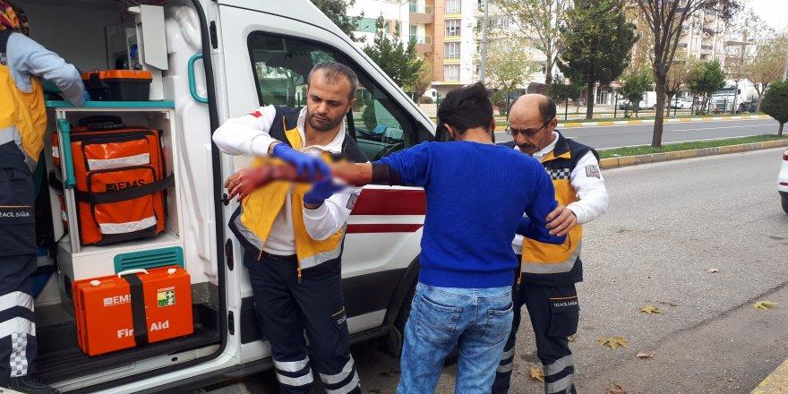 50 liralık borç için bıçaklandı