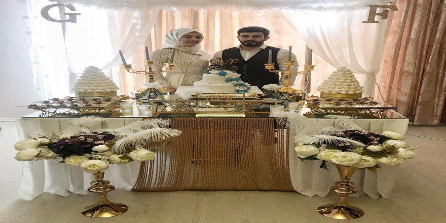 Fatih Cengiz, evliliğe ilk adımını attı