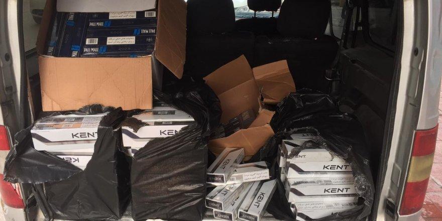 20 bin 780 paket kaçak sigara ele geçirildi