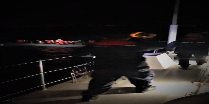 48 kaçak göçmen yakalandı
