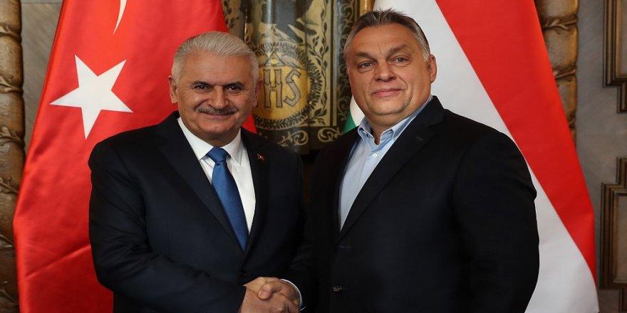 TBMM Başkanı, Orban ile görüştü