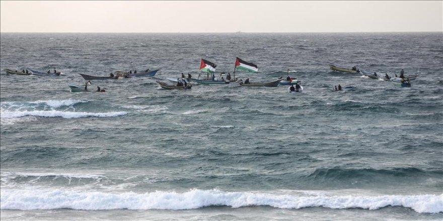 İsrail askerleri Gazze sahilinde 2 Filistinliyi yaraladı