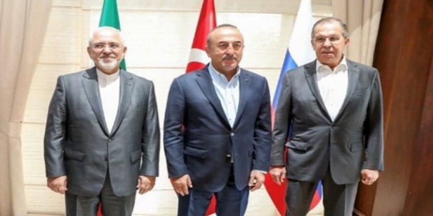 Türkiye, Rusya ve İran bir araya geldi