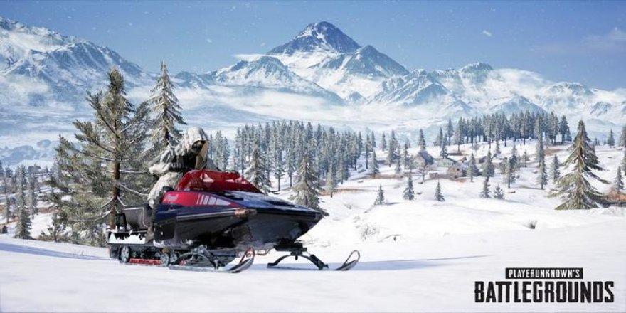 PUBG oyuncularına müjde! İşte yeni karlı harita