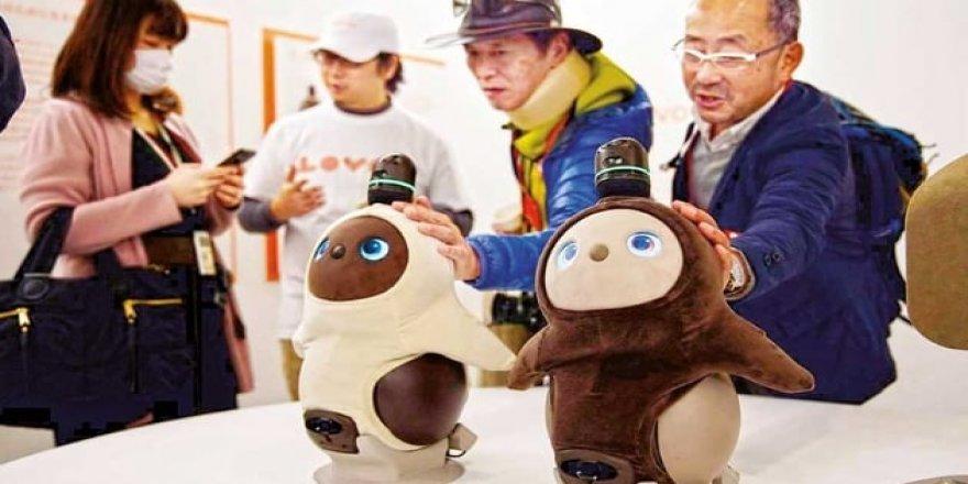 Japonlar mutluluğa robotla ulaşacak