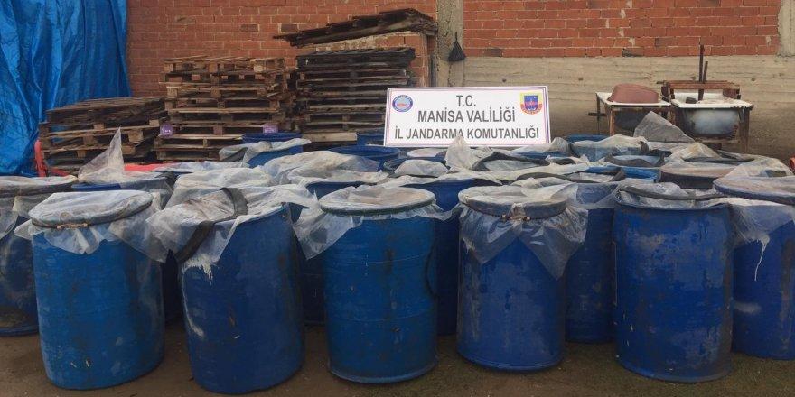 10 ton kaçak içki ele geçirildi
