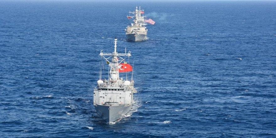 Deniz Kuvvetlerinden uluslararası sularda deniz eğitimi