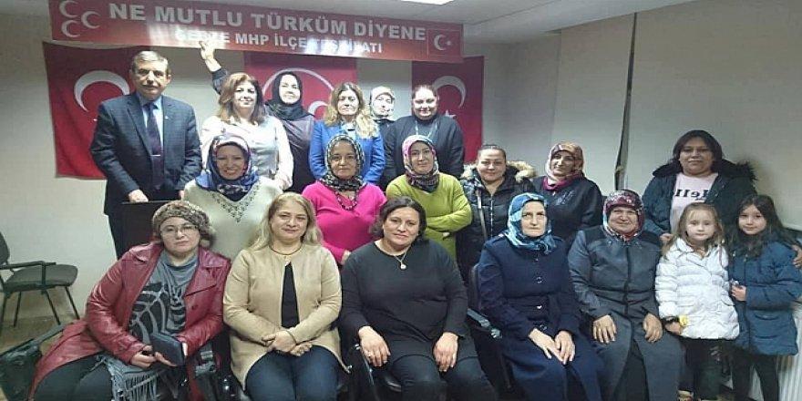 MHP'li kadınlar inanıyor