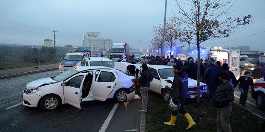 Kazadan yaralı kurtulan sürücü aracının üzüntüsünü yaşadı