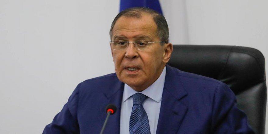 Lavrov'dan INF açıklaması
