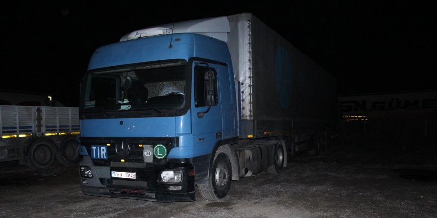 Tır şoförü otoparkta ölü bulundu