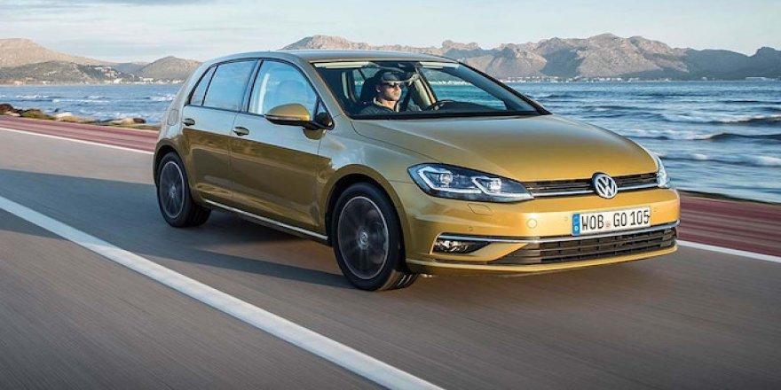 Volkswagen 2018 model Golf'leri geri çağırıyor