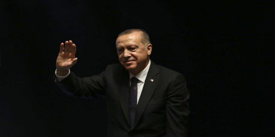 Erdoğan'ın mesajı okundu
