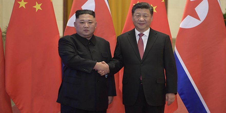 Çin ve Kuzey Kore liderleri görüştü