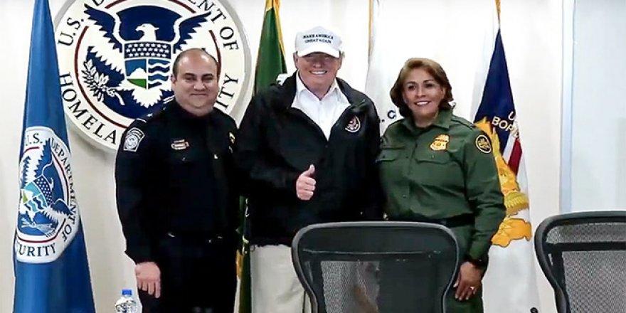 Trump, Meksika sınırında