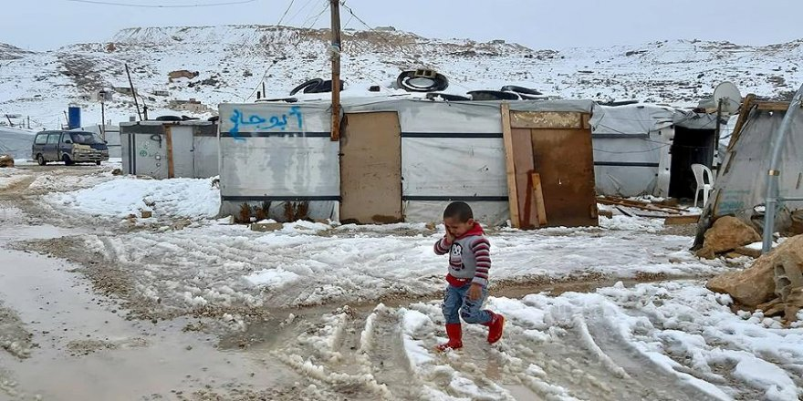 60 bin Suriyeli mülteci hayatta kalma mücadelesi veriyor
