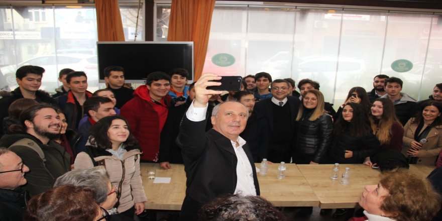 """Muharrem İnce: """"Türkiye aynı esnaf lokantası gibi"""""""