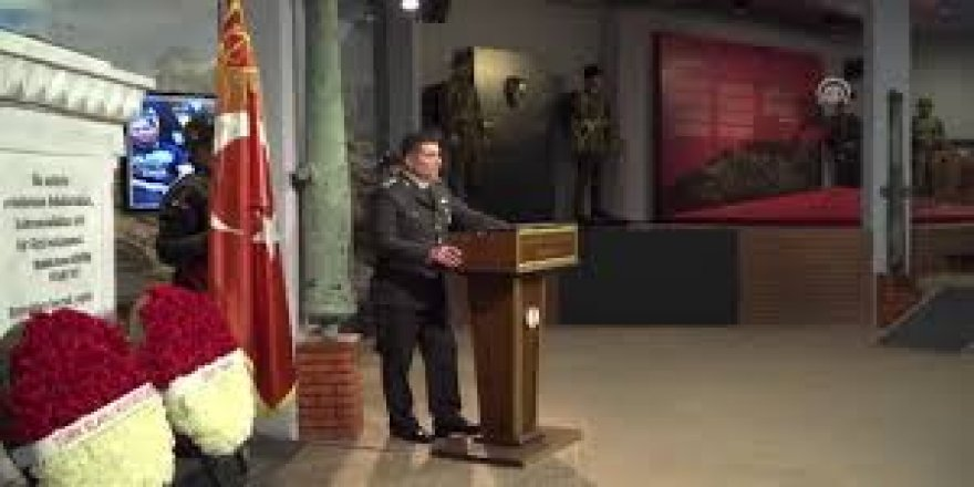 """""""Türkiye Şehitlerini Anıyor"""" programında 1. Dünya Savaşı şehitleri anıldı"""