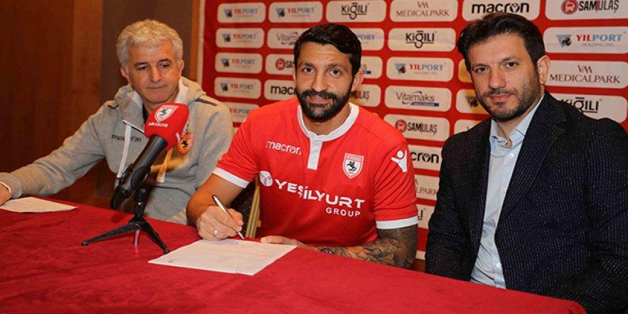 Yılport Samsunspor, Aytaç Sulu ile 1.5 yıllık sözleşme imzaladı