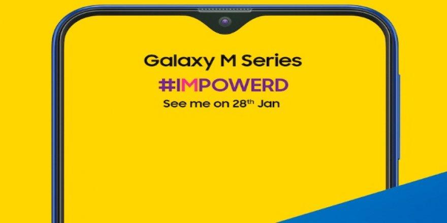 İşte Samsung Galaxy M serisinin tanıtılacağı tarih ve ilk görünümü