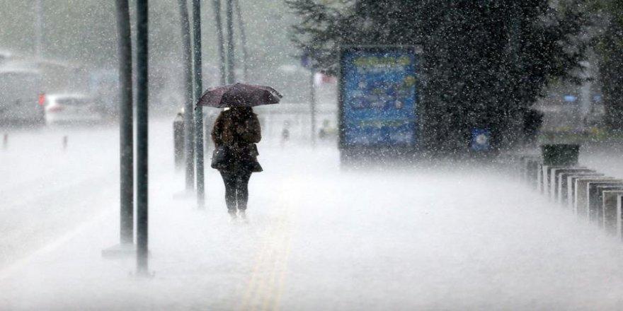 Sağanak ve kar uyarısı